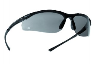 Bollé Protection Glasses Contour with Silver Frame and Smoke Lens