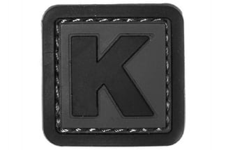 "101 Inc PVC Velcro Patch ""K"""
