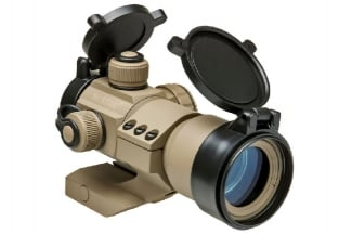 NCS Red/Green/Blue Dot Sight with 20mm Mount (Tan)