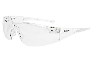 Bollé Protection Glasses Rush with Clear Frame and Clear Lens