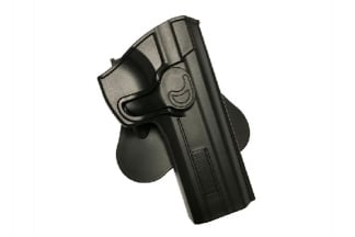 Amomax Rigid Polymer Holster for CZ P-01 (Black)