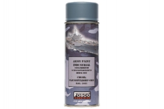 Fosco Army Spray Paint 400ml (Battleship Grey)