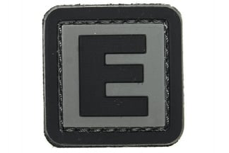 "101 Inc PVC Velcro Patch ""E"""