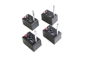 Zero One AlphaFire X4QM Wireless Detonator Set (9v)