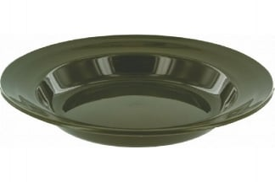 Highlander Plastic Deep Plate (Olive)