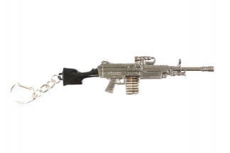 "Zero One Key Chain ""M249"""