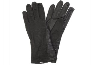 Mil-Force Nomex Fire Resistant Operator Gloves (Black) - Size Large