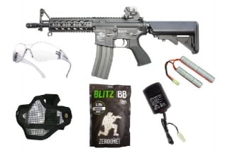 Zero One AEG CM16 Raider Starter Pack Tier 1 (Bundle)