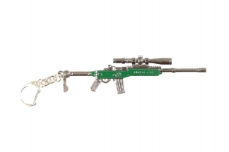 "Zero One Key Chain ""RUGER MINI-14"""