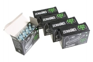 Zero One 8g CO2 Capsule Box of 50 (Bundle)