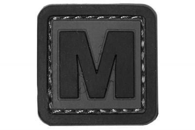 """101 Inc PVC Velcro Patch """"M"""""""