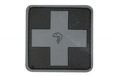 Viper Velcro PVC Medic Patch (Black)