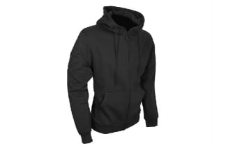 Viper Tactical Zipped Hoodie (Black) - Size Large