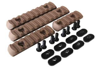 Element 20mm RIS Set for MOE Style Handguard (Dark Earth)