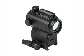 NCS Micro Red/Blue Dot Sight with Integrated Green Laser and High QD Mount