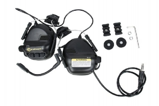 EB OPSMEN M32H Headset for Helmet Rails  (Military Standard Plug)