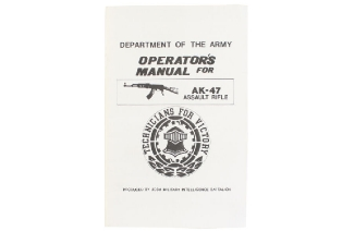 Army AK-47 Operators Manual