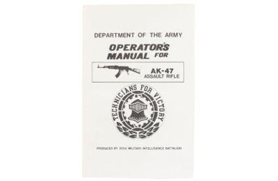 Army AK-47 Operators Manual