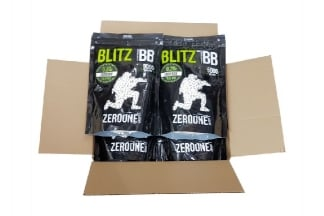 Zero One Blitz Bio BB 0.20g 5000rds (White) Box of 10 (Bundle)