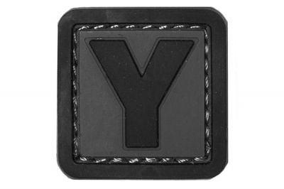 """101 Inc PVC Velcro Patch """"Y"""""""
