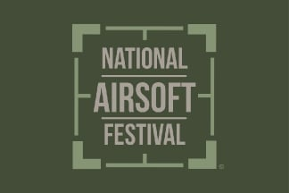 Ground Zero Flag 'National Airsoft Festival' - 100cm x 150cm