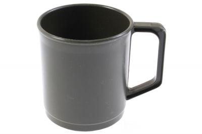 Mil-Com Plastic Mug (Olive)