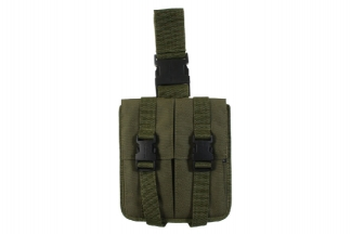 Mil-Force Drop Leg Multi Magazine Pouch for 2x M16 (Olive)