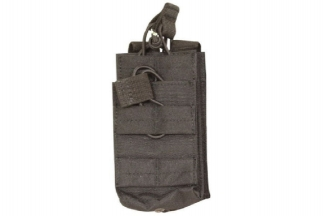 Viper MOLLE Quick Release Stacked Single Mag Pouch (Black)