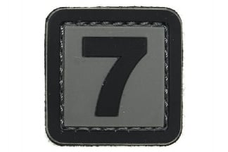 "101 Inc PVC Velcro Patch ""7"""