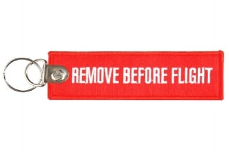 "101 Inc Key Chain ""Remove Before Flight"""
