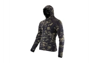 Viper Fleece Hoodie (B-VCAM) - Size Medium