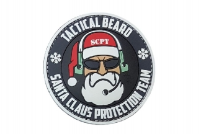 JTG Santa Claus Protection Team PVC Patch
