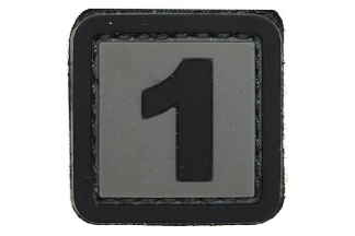 "101 Inc PVC Velcro Patch ""1"""