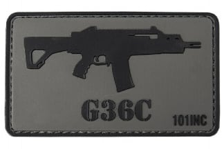 "101 Inc PVC Velcro Patch ""G39C"""