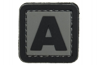 "101 Inc PVC Velcro Patch ""A"""
