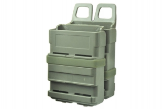 FMA MOLLE M4 Fast Magazine Pouch - Set of 2 (Foliage Green)