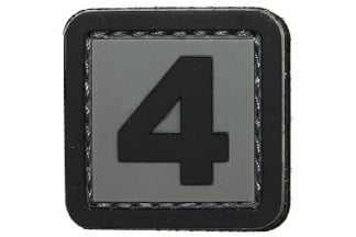 "101 Inc PVC Velcro Patch ""4"""