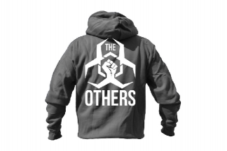 Daft Donkey Special Edition NAF 2018 'The Others' Viper Zipped Hoodie Titanium (Grey)