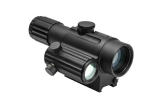 NCS 4x34 Dual Urban Scope with Offset Green Dot