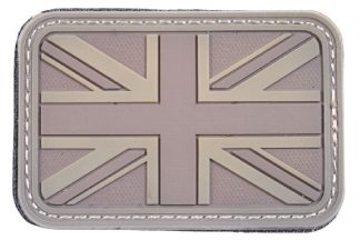 EB Velcro PVC Union Flag Patch (Tan)