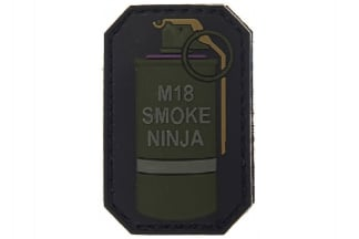 "101 Inc PVC Velcro Patch ""M18 Smoke Ninja"""