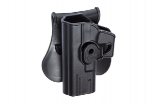 ASG Rigid Polymer Holster for Glock Left Hand (Black)