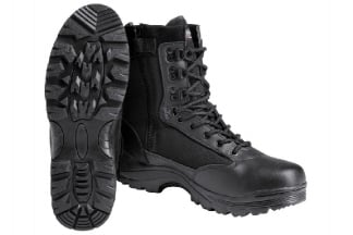 Mil-Com Recon Side Zip Boot (Black) - Size 12