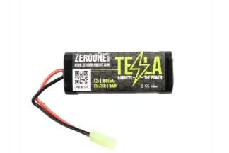 Zero One Tesla Battery 7.2v 1600mAh NiMH (Mini)