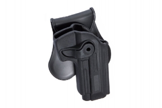 ASG Rigid Polymer Holster for M92 (Black)