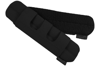 Viper Comfort Shoulder Pads Set of 2 (Black)