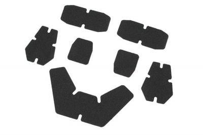 FMA Adhesive Velcro Backing Set for Helmets (Black)