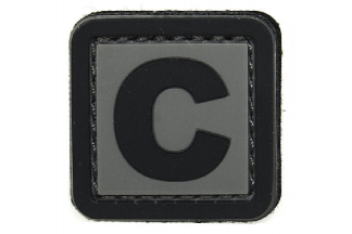 "101 Inc PVC Velcro Patch ""C"""