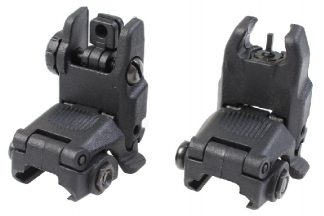 101 Inc BUS Flip-Up Sight Set (Black)