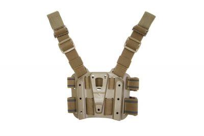 Blackhawk CQC SERPA Holster Drop Leg Platform (Coyote Tan)